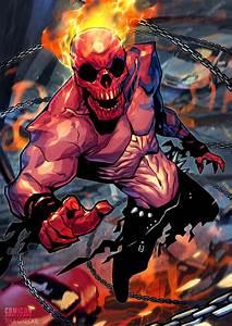 Ghost Rider Comicon Challenge by MaxGrecke on DeviantArt