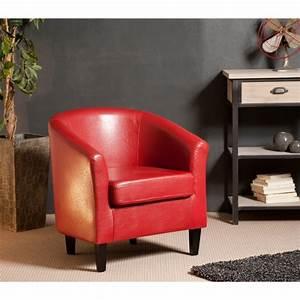 Fauteuil salon rouge idees de decoration interieure for Fauteuil salon rouge