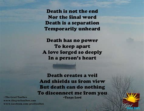 death      poem  grief toolbox