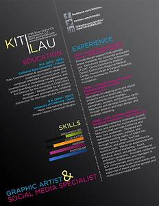 graphic resume creative cv by ison on DeviantArt