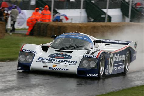 Porsche 962 - Chassis: 962-006 - 2007 Goodwood Festival of ...