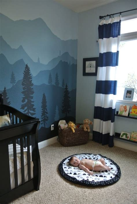 baby boy bedroom themes maddox s mountain nursery project nursery 14082 | A3351F0C E122 4025 8163 D1628D0B75CD 685x1024