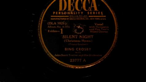Silent Night 78 Rpm On A 1916 Sears