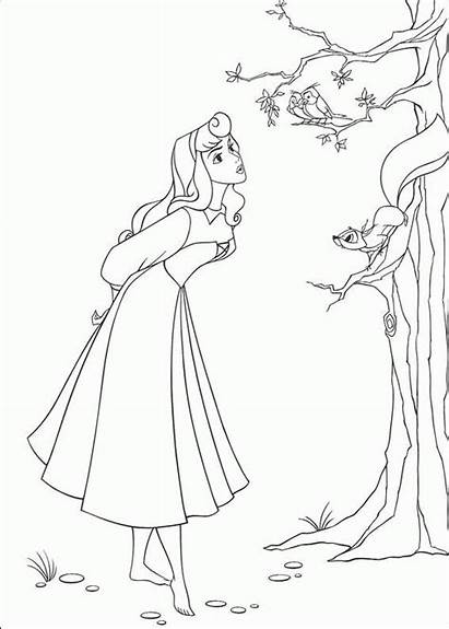 Coloring Pages Sleeping Beauty Animated Gifs Categories