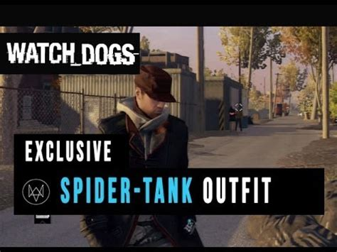 dogs spider tank outfit gameplay exclusive