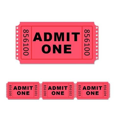 admit one ticket template 5 best images of admit one ticket template printable blank admit one ticket template free