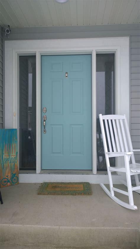 my front door sherwin williams festoon aqua front