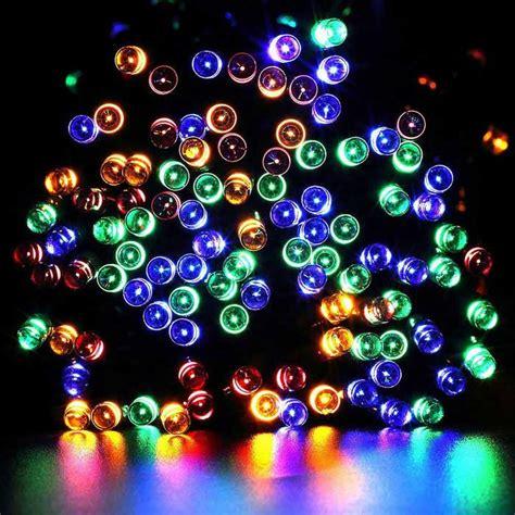 solar powered twinkle lights solar powered decorative twinkle multi color led light