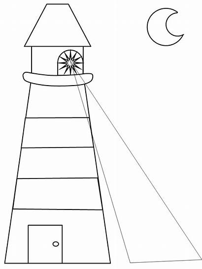 Lighthouse Coloring Pages Lunch Keepers Bible Printable