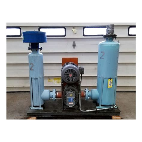 dresser roots blower vacuum division used 15 hp roots dresser universal 59 u blower package