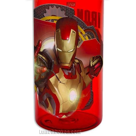 Iron Man Hydro Canteen Bottle Lunchboxcom