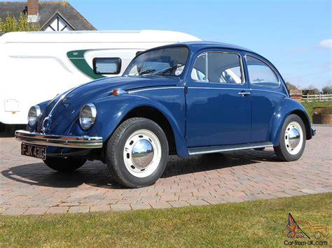 volkswagen bug blue classic volkswagen 1300 beetle cobalt blue