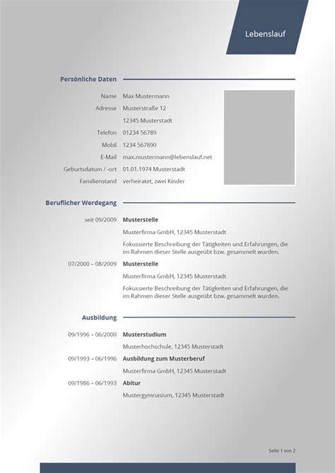 Bewerbungsschreiben Lebenslauf Muster by Bewerbung 2018 Tabellarischer Lebenslauf