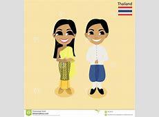 Cartoon ASEAN Thailand stock vector Image of viet