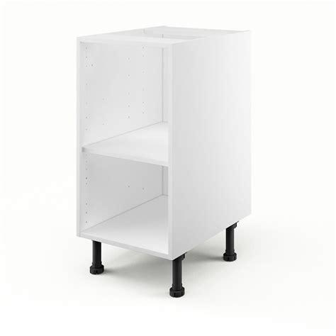 caisson de cuisine bas b40 delinia blanc l 40 x h 85 x p 56 cm leroy merlin