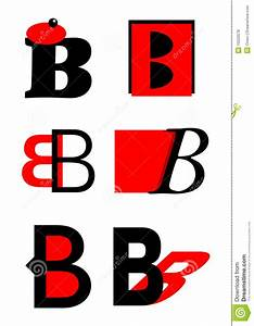 Vector Alphabet B Logos And Icons Royalty Free Stock ...
