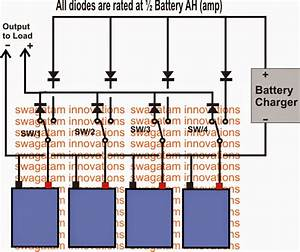 Parallel Battery Charger Circuit With Changeover