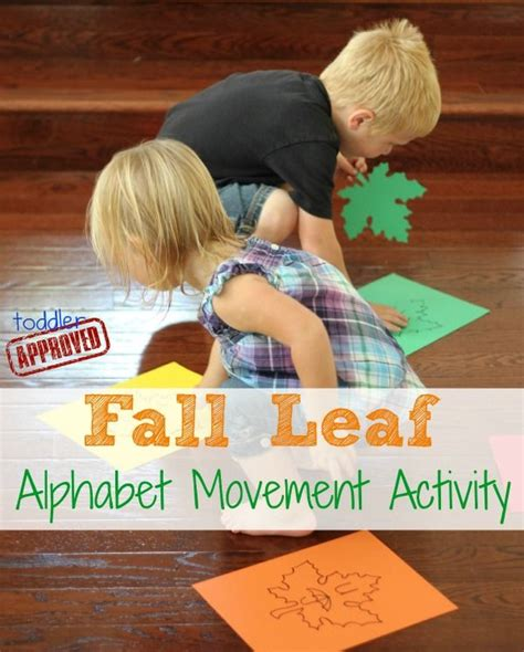 fall leaf alphabet movement activity the facts facts 797 | d88cfd896ddc2f2ed334fe1d22a6f74a