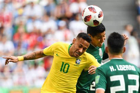 coupe du monde 2018 le r 233 sum 233 de br 233 sil mexique