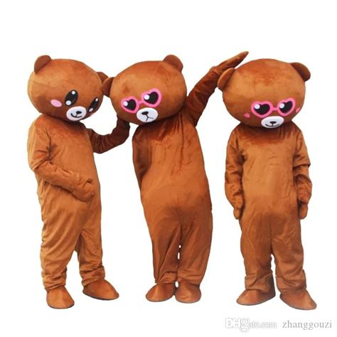national network red bear dress puppet clothing mascot