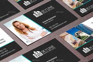 Real estate business card template by godserv2 graphicriver for Realtor business cards templates