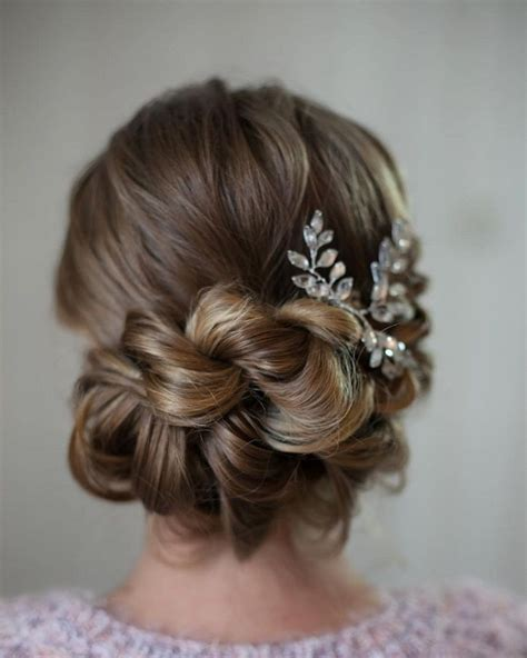 Bridesmaid Updo Hairstyles With Braids by 21 Wedding Updos With Braids Modern Take On Braids