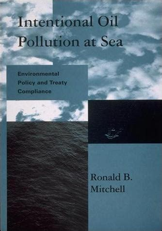 intentional oil pollution  sea  mit press