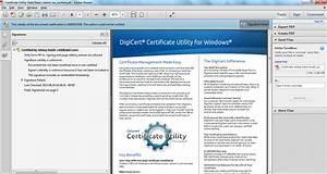 Digitally signed document checks digicertcom for Digitally sign documents free