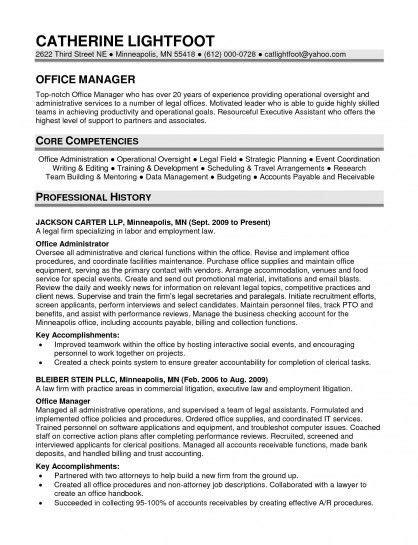 20818 office manager resumes office manager resume sle resume sle