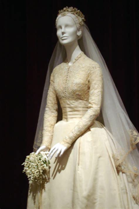 wedding dress headpiece veil grace kellys wedding