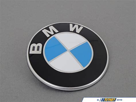 bmw trunk emblem  grommets    series turner motorsport