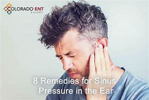 How To Drain Sinuses Behind Ears