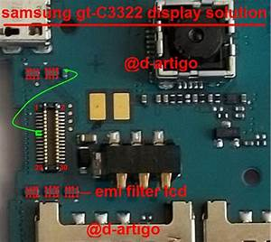 Samsung C3322 Display Light Solution Lcd Jumper Problem Ways