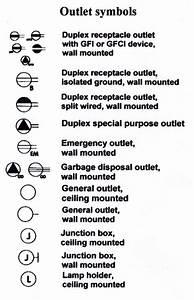 6 Best Images Of Outlet Symbol Diagram