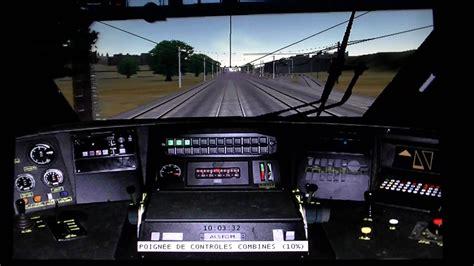 siege simulateur de conduite tgv voyage en cabine tgv sur msts simulateur ferroviaire