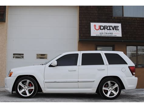 white jeep grand cherokee custom 2009 jeep grand cherokee srt8