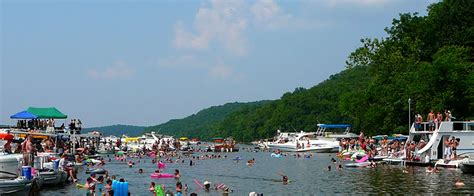 Lake Of The Ozarks Boating Map by Missouri Travel Vacation And Recreation Guide