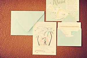 real wedding lindsay and robs maui destination weddi with With maui destination wedding invitations