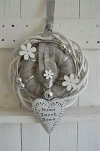 Türkranz Winter Modern : filzband dekobl ten dekoband formdraht 3 mm mit 20iger perlen in silber alu flachband ~ Whattoseeinmadrid.com Haus und Dekorationen
