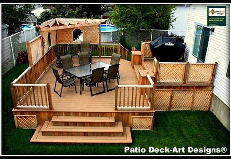 patio deck designs outdoor living contemporary