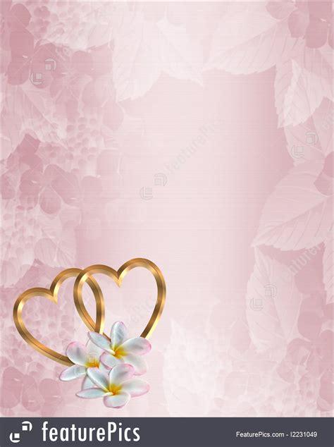 illustration  wedding invitation pink floral