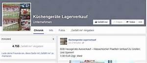 Designerware zu auffallig gunstigen preisen auf facebook for Küchenger te abverkauf