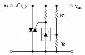tl431 typical application reference design voltage With crow bar circuit