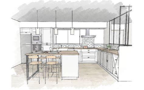 plant de cuisine cuisines et nos vues 3d déco cuisine