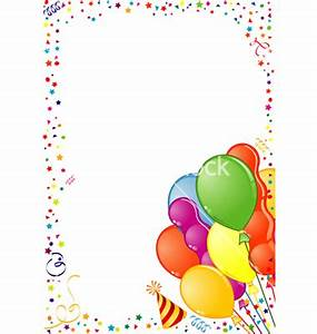 Best Birthday Border Clipart #27314 - Clipartion.com