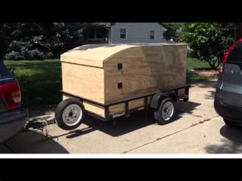camping explorer trailer build youtube