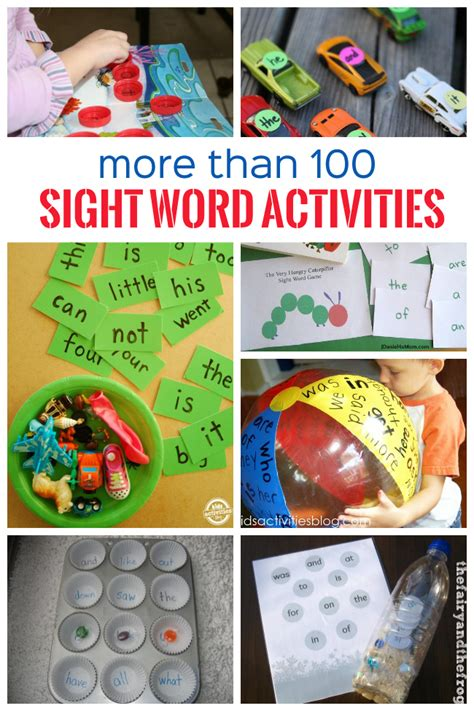 100 sight word activities word for and 383 | 005648d37646f558a8955f81a2ef70ed