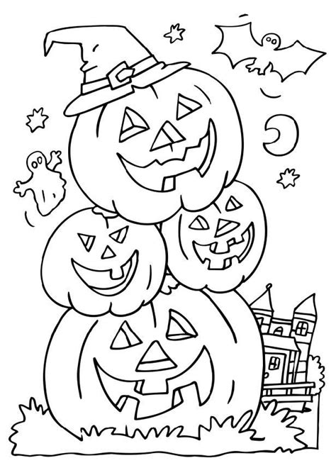 halloween coloring pages  print  color