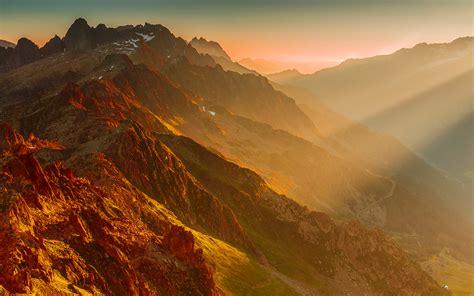 Mountains Sunset Wallpaper Hd  Hd Desktop Wallpapers  4k Hd