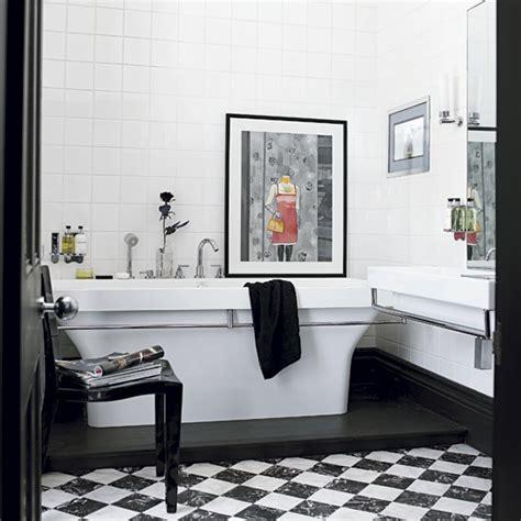 monochrome bathroom ideas monochrome bathroom step inside a glamorous jacobean house housetohome co uk